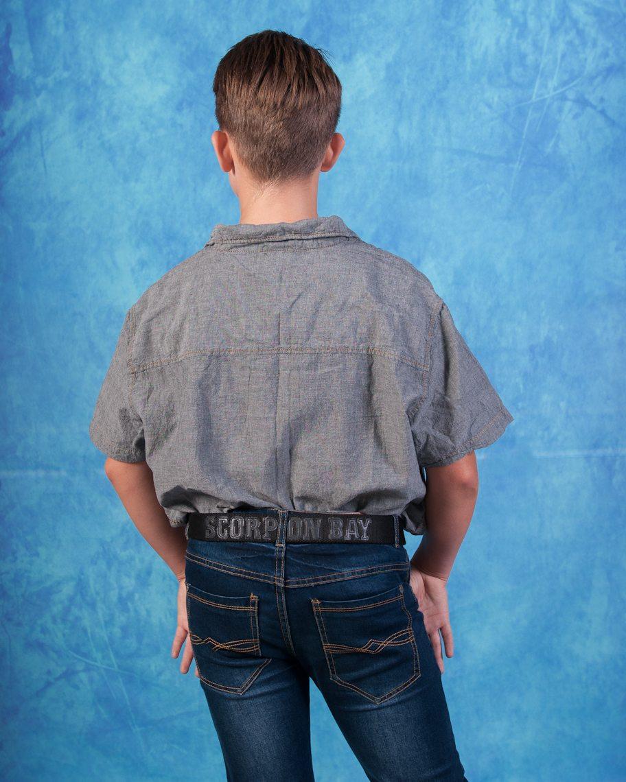 Серая рубашка от Scorpion Bay