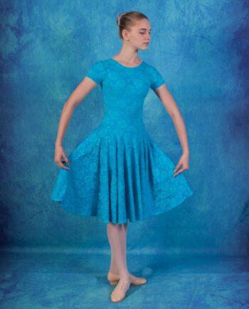 Рейтинговое платье из бифлекса