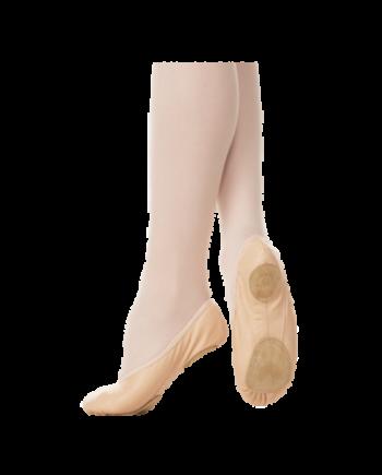 Детские балетки (МБО) мод. 1/1-P/D с резинкой и сплошной подошвой из кирзы(арт. 03001/D-P)