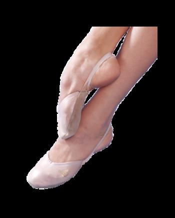 Полупальцы гимнастические из кожи (арт. 03051К)