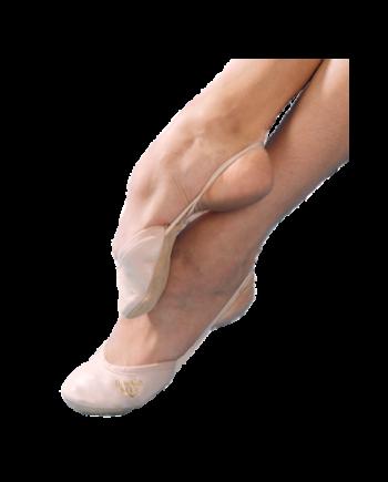 Полупальцы гимнастические Алина из кожи (арт. 03052K)