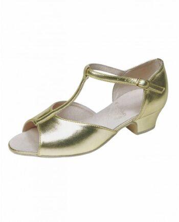 Бальные туфли для девочек «Латина» каблук 3 см. мод. 3835/ИК (арт. 03381ИК)