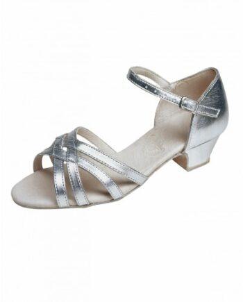 Бальные туфли для девочек «Латина», каблук 3 см. мод. 3838/ИК (арт. 03384ИК)